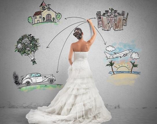 planning a wedding when single